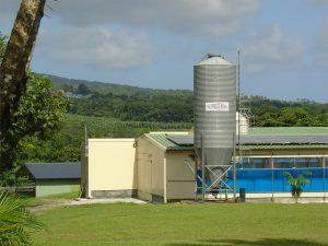 Les silos extérieurs