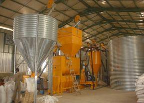 Ensemble fabrication d'aliments 3 à 4 T/h