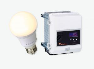 LED lamp and LED-ERS dimmer