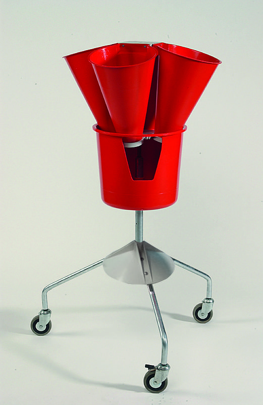 Saignoir plastique rotative